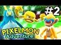 Minecraft Pixelmon Adventure Episode 2 - SHINY ALREADY?! (Minecraft Pokemon)
