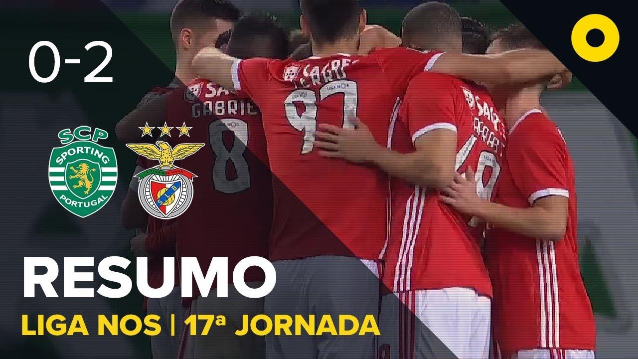Спортинг Лиссабон  0-2  Бенфика видео