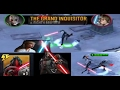 The grand inquisitors and the eighth brother anti Luke skywalker deck - starwars force arena