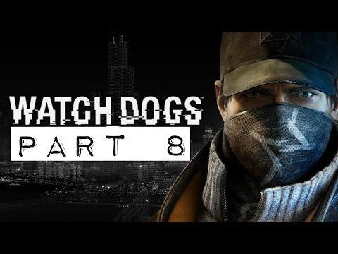 Watch Dogs Walkthrough - Part 8 - No Parking Gang Hideout - (Act 1) (PS4) (1080p)