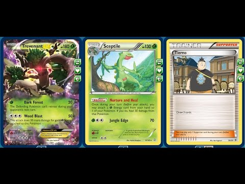 (XY Standard) Trevenant Ex/Sceptile Deck, New Tierno Deck Engine and Current Grass Tech Performance