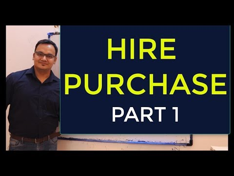 HIRE PURCHASE::PART 1