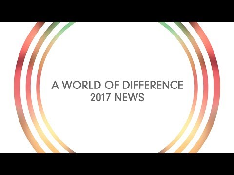 A World of Difference: 2017 News