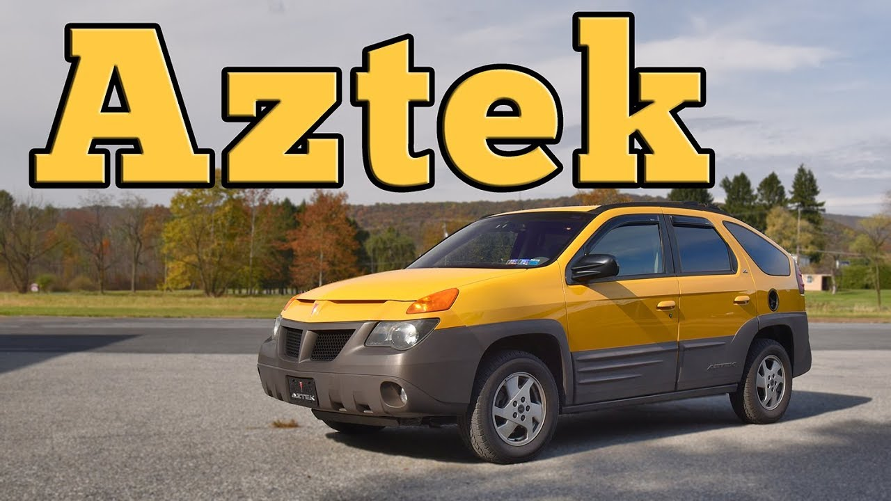 2001 Pontiac Aztek Gt Regular Car Reviews