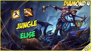 ✔ Jungle Elise THE NEW OP? - Full Commentary in Diamond 4 ft. Roflgator | League of Legends