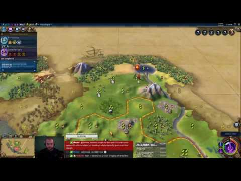 Civilization 6 Multiplayer 1: Spain [1/3] ( 6 Player Free For All) Gameplay/Commentary