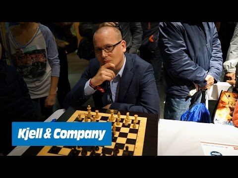 Kjell-TV – Self-moving chess and the invention of Maker Faire (from Maker Faire New York 2016)