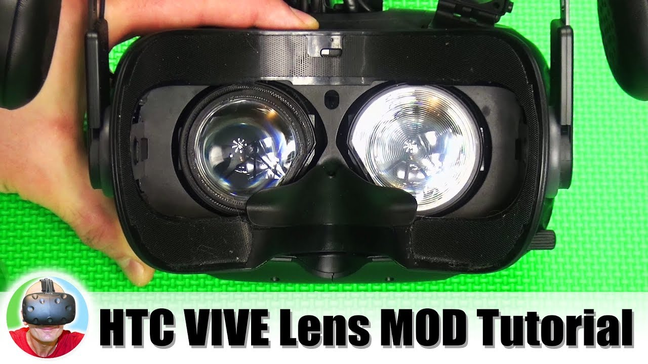 Anyone here with HTC Vive try the Real VR lens mod upgrade