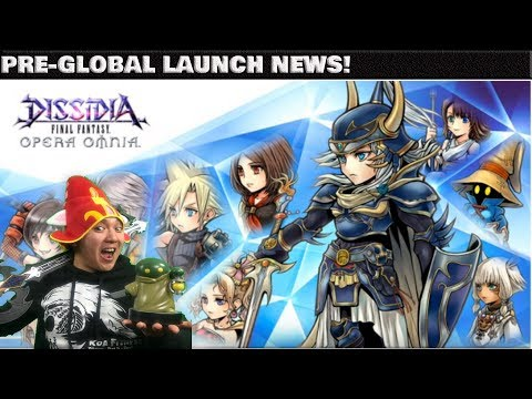 Dissidia Final Fantasy: Opera Omnia PRE-GLOBAL LAUNCH EXCITING NEWS!! TUTORIAL SUMMON RECOMMENDATION