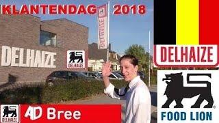 DELHAIZE SUPERMARKET IN BELGIUM Klantendag bij de AD Delhaize in Bree 06 Oktober 2018