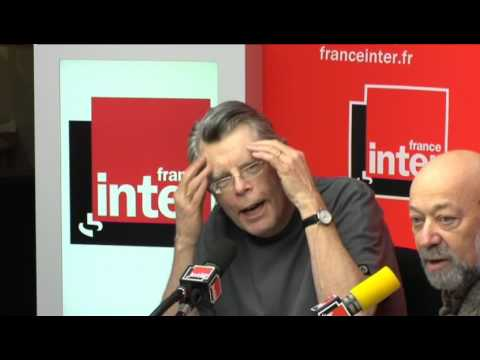STEPHEN KING SUR FRANCE INTER