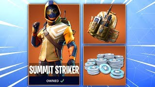 Summit Striker Starter Pack - Summit Striker RELEASE DATE! (Fortnite Summit Striker Release Date)