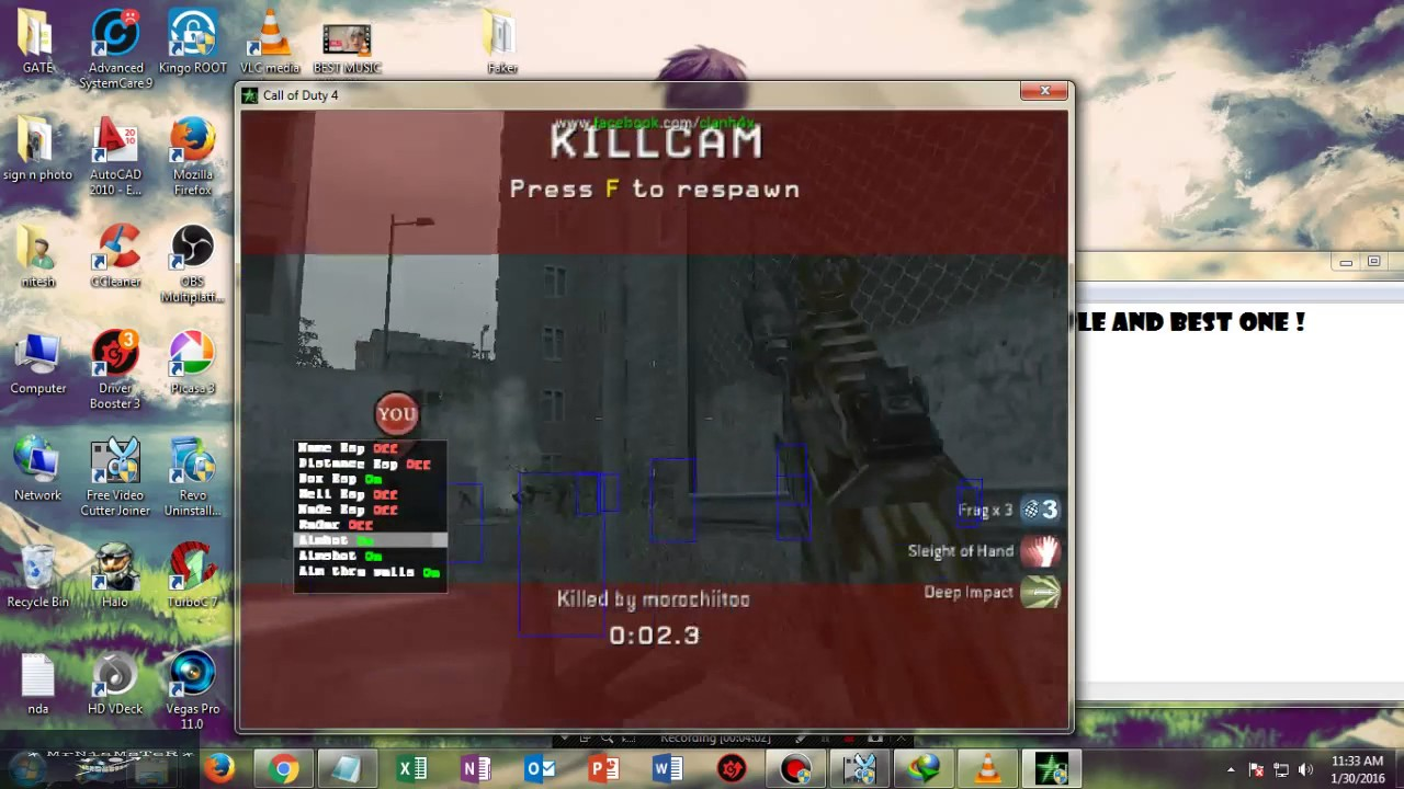 cod4 1.7 aimbot download