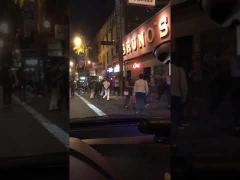 Peleas en San Francisco ca todo por el alcohol