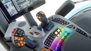 SideWinder™ Ultra Armrest with IntelliView™ 12: Ultimate In-Cab Ergonomics