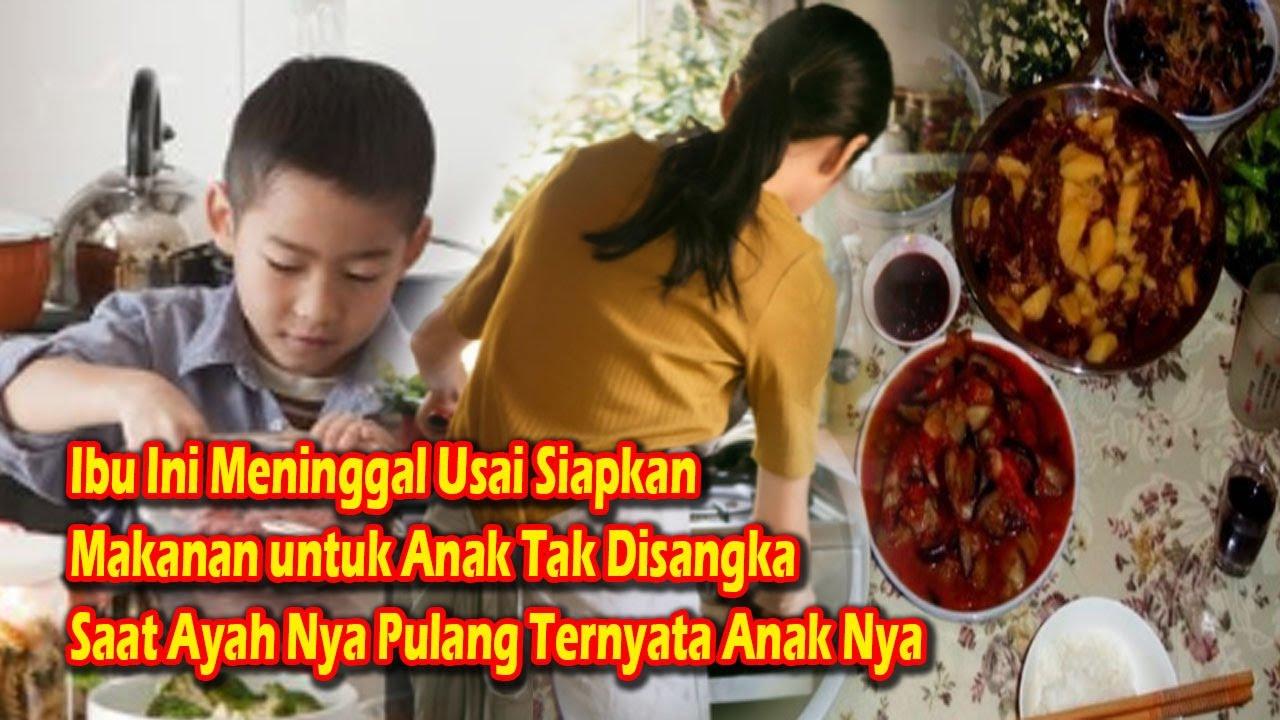 Ibu Ini Tak Ada Usai Siapkan Makanan untuk Anak Tak Disangka Saat Ayah Nya Pulang Ternyata Anak Nya