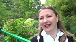 Минусы Путешествия с Короной, попадалово с ж/д Франции, сад Клода Моне