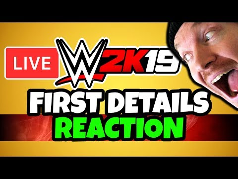 🔴 WWE 2K19 Press Conference LIVE Reaction!
