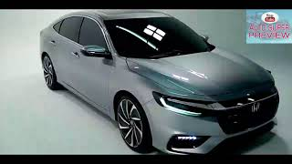 2019 All New  Honda Insight Prototype Super Hybrid   Amazing Exterior and Interior  Review In HD