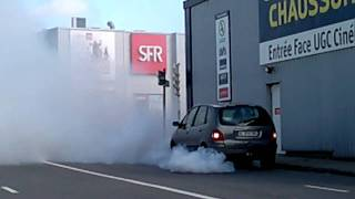 Magnifique : suicide d'un Diesel :)