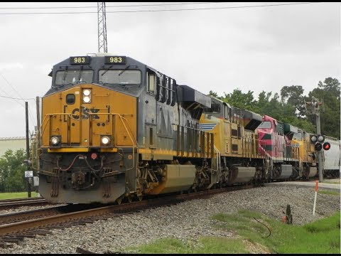 Railfanning Spring, TX 5/29/2017 (Memorial Day) with CSX and FXE