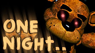 one night is more than enough    one night at freddys 3d