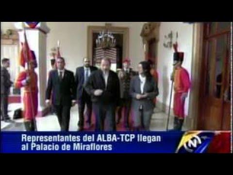 17 MAR 2017 Cumbre Presidencial Alba TCP Caracas 2017: Llegada Pdtes