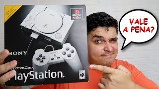 PlayStation Classic Mini Unboxing e Review - Vale a Pena ter Um?