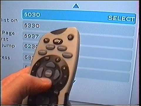 Code Sky Remote Control