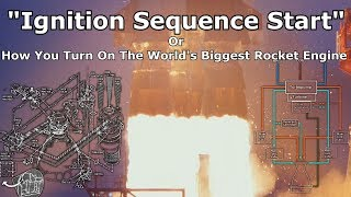 "How To Start The Massive F-1 Rocket Engine - Explaining ""Ignition Sequence Start"""