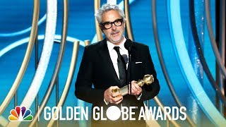 Alfonso Cuarón Wins Best Director - 2019 Golden Globes (Highlight)