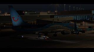 [X-Plane 11] TFL421 Amsterdam(EHAM) São Vicente(GVSV) Zibo boeing 737-800