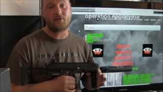 H Umarex MP7 Hard Kick GBB Airsoft Gun by KWA (Death Watch Airsoft Gun Review)