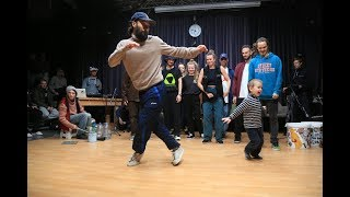 FOOTWORK HOUSE DANCE CONTEST feat. STREET DRUMMERS SUPER ED & ALEKSEY SHEVCHENKO. V1 BATTLE 2018