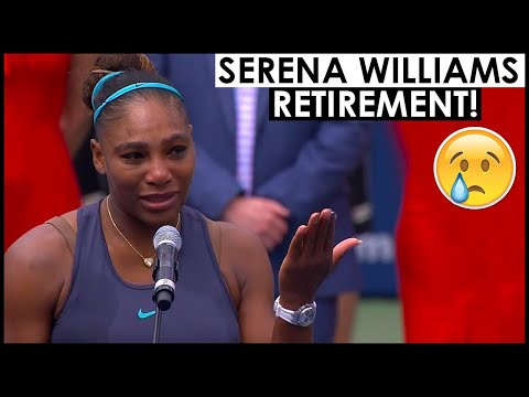 SERENA WILLIAMS RETIREMENT 😢 SERENA MAKES RETIREMENT REVELATION WITH SPECIAL MENTION TO FEDERER
