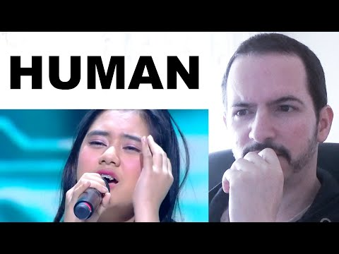HUMAN - ZIVA Cover-Song Performance REACTION + REVIEW
