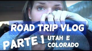 ROAD TRIP PARTE 1: avisos de neve, atrasos, estradas bonitas