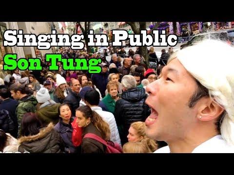 SINGING IN PUBLIC - LẠC TRÔI - SƠN TÙNG M-TP (V-POP)