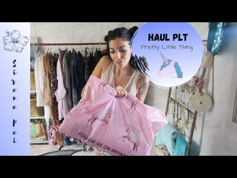 HAUL PLT 🦄 PRETTY LITTLE THING | JE TESTE