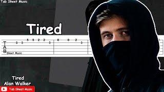 Alan Walker - Tired Guitar Tutorial
