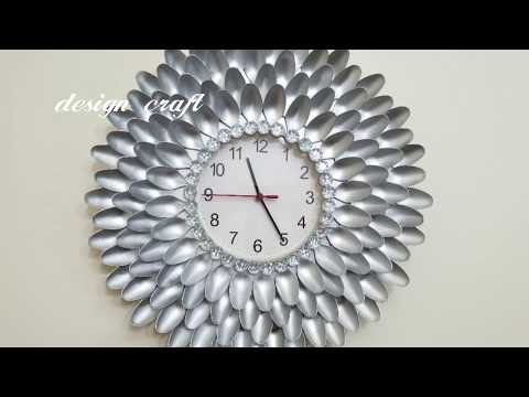 DIY Crafts Ideas: DIY Wall clock decor .