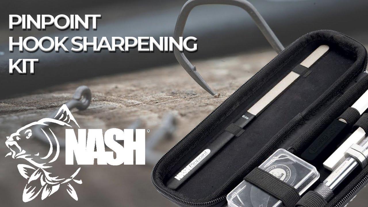 Nash Pinpoint Precision Sharpening Kit t6200 hakenschärfset Crochet Aiguisage