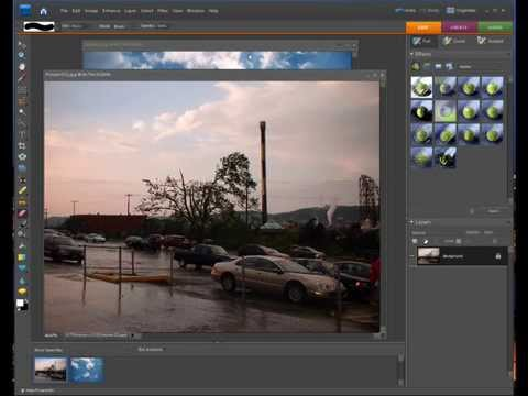 Photoshop Elements Masking A Blue Sky