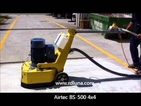 Pulidora de pavimentos bs 500 4x4 abrir poro y sanear for Pulidora de hormigon