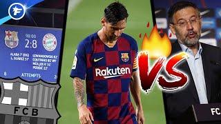 Les 4 problèmes du FC Barcelone suite à l'affaire Lionel Messi | Revue de presse