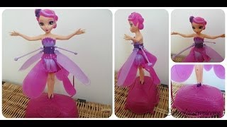 Flutterbye Flying Fairy From Spin Master