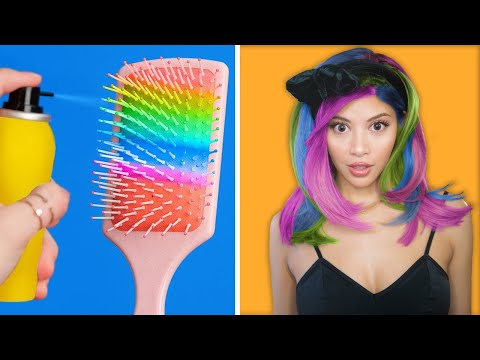 Trying 'Smart' DIY Beauty Hacks For Cool Girly... Girls