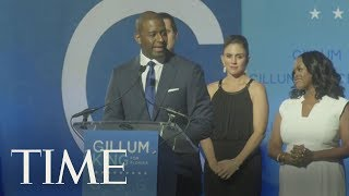 Andrew Gillum Addresses Supporters In A Concession Speech | TIME