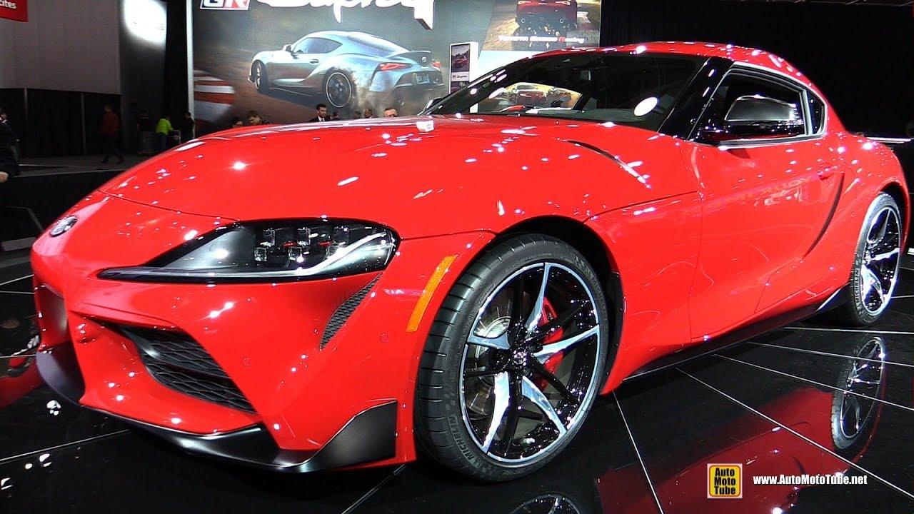 2020 Detroit Auto Show Debuts.2020 Toyota Supra Exterior And Interior Walkaround Debut At Detroit Auto Show 2019