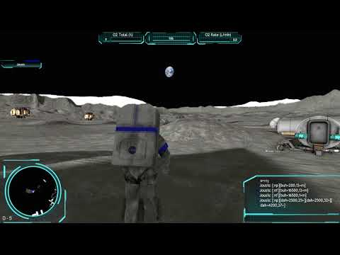 2001: A Space Odyssey Theme in Moonbase Alpha